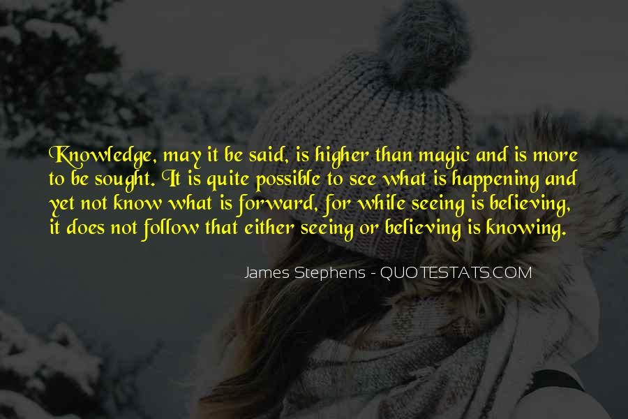 Quotes About Believing In Magic #462489