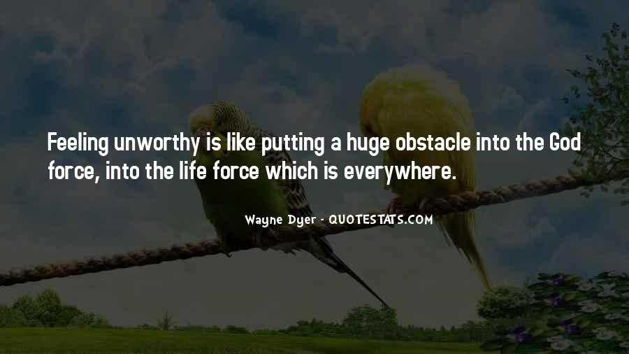 Quotes About Feeling Unworthy #1447665
