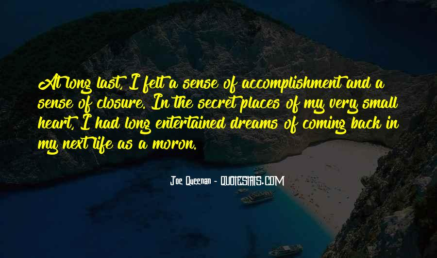 Quotes About Accomplishment #103995