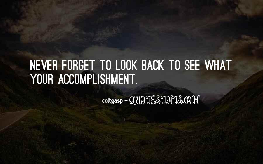 Quotes About Accomplishment #106800