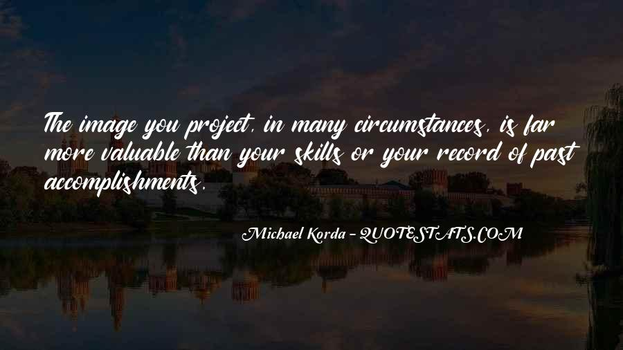 Quotes About Accomplishment #112576