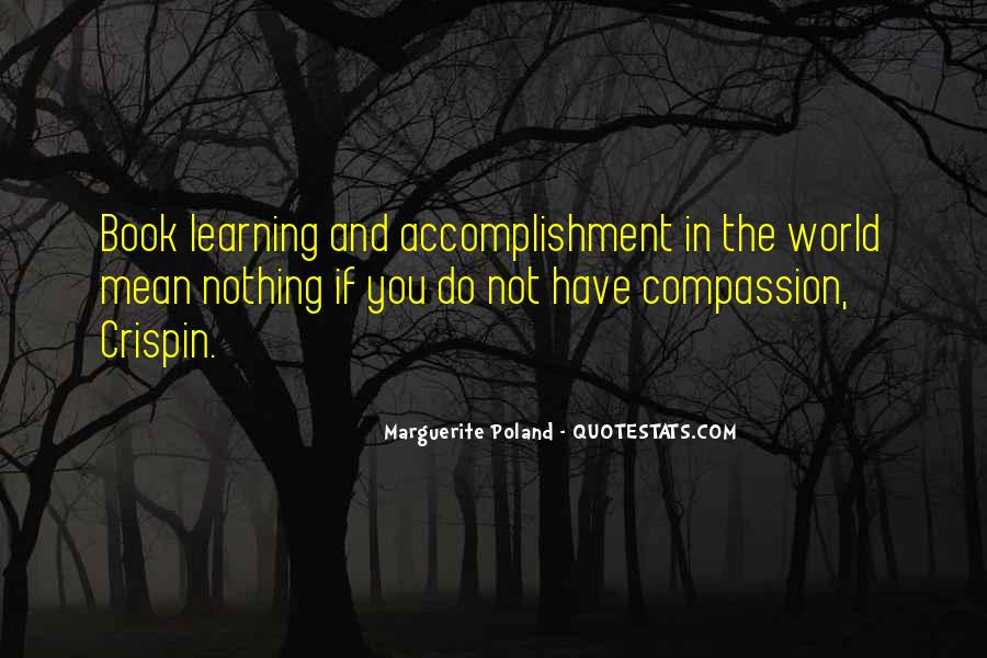 Quotes About Accomplishment #134401