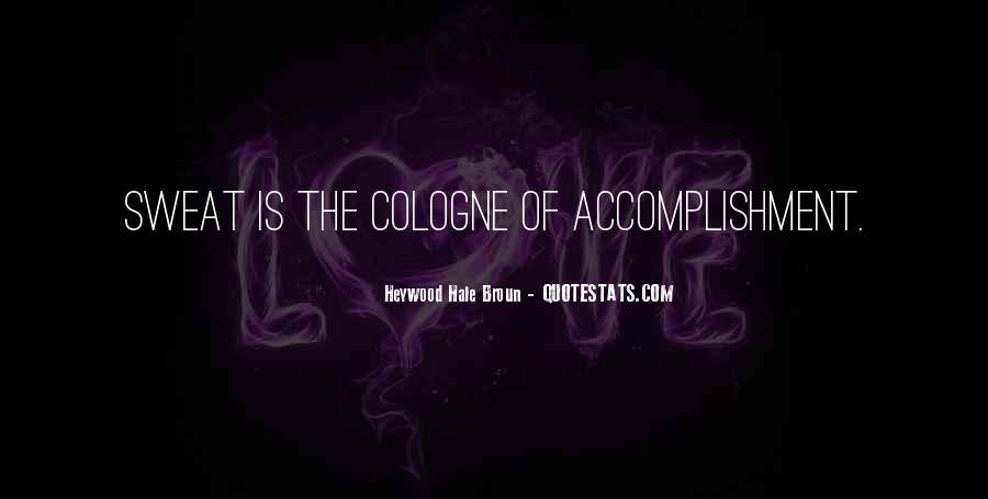 Quotes About Accomplishment #14008