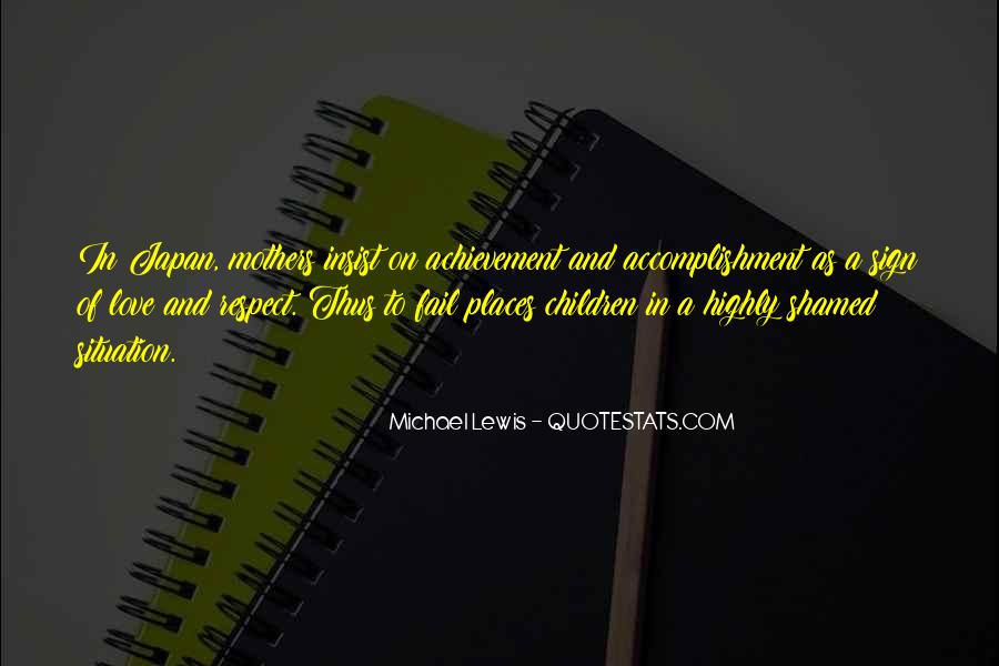 Quotes About Accomplishment #147759