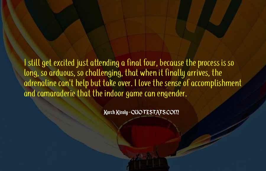 Quotes About Accomplishment #164841