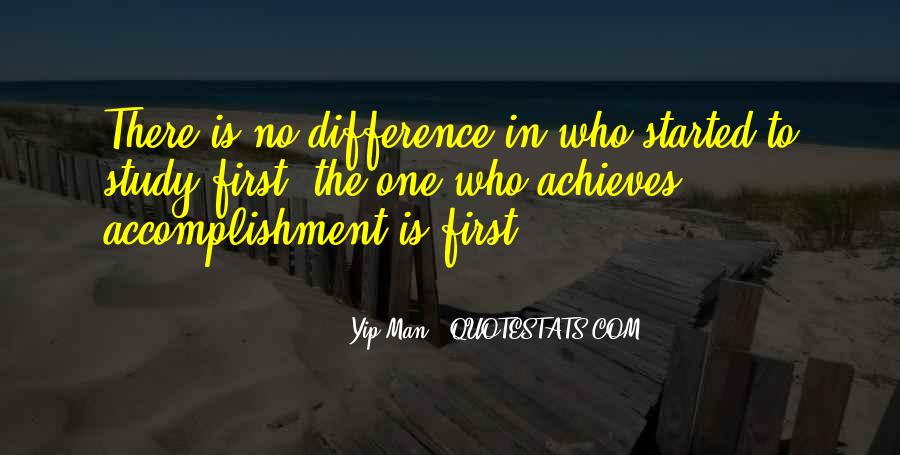 Quotes About Accomplishment #172195