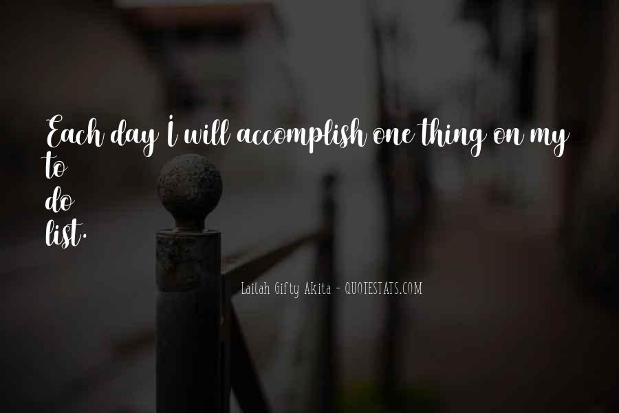Quotes About Accomplishment #185390