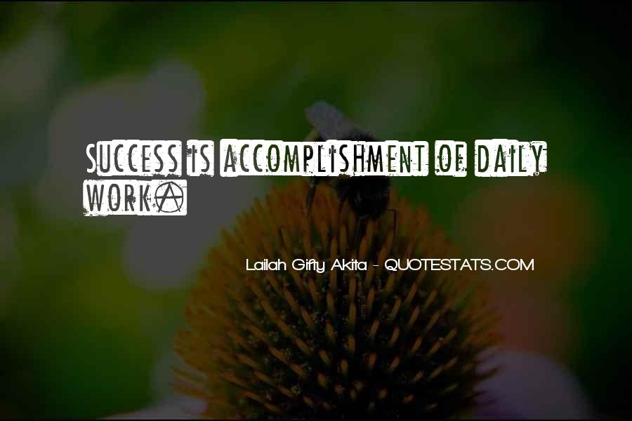 Quotes About Accomplishment #191046