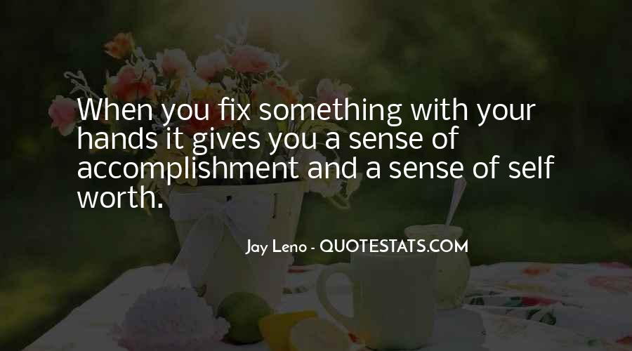 Quotes About Accomplishment #200474
