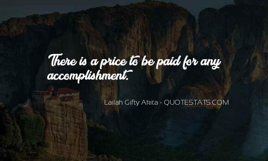 Quotes About Accomplishment #211192