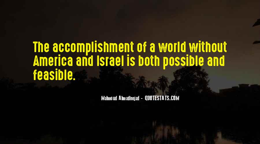Quotes About Accomplishment #235641