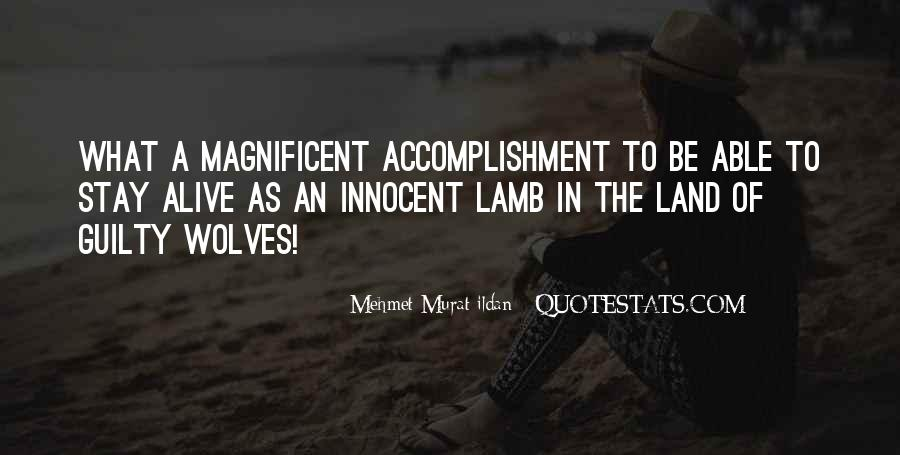 Quotes About Accomplishment #249770