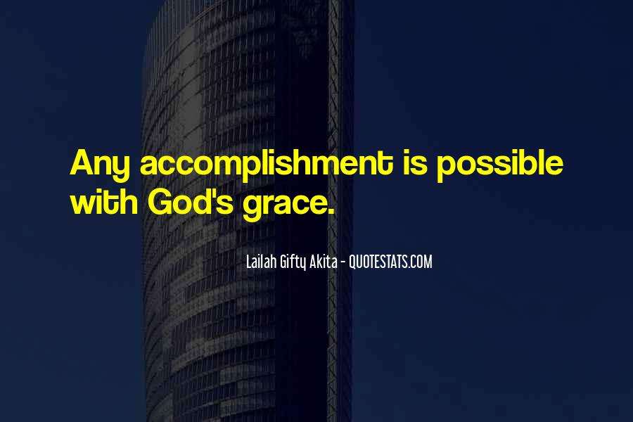 Quotes About Accomplishment #261695