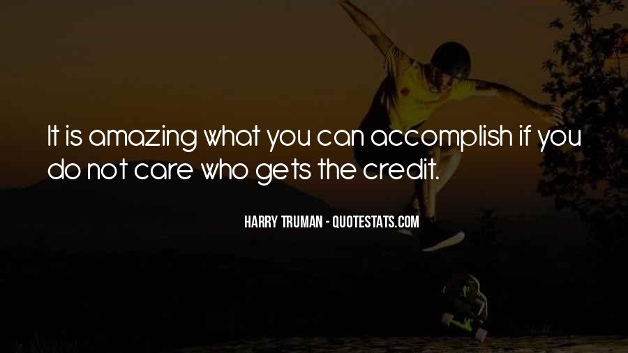 Quotes About Accomplishment #4108