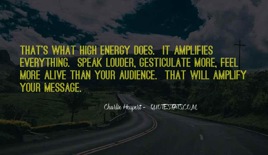Quotes About Amplify #220560