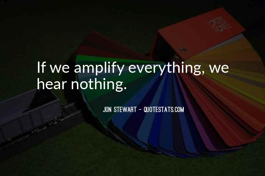 Quotes About Amplify #44533