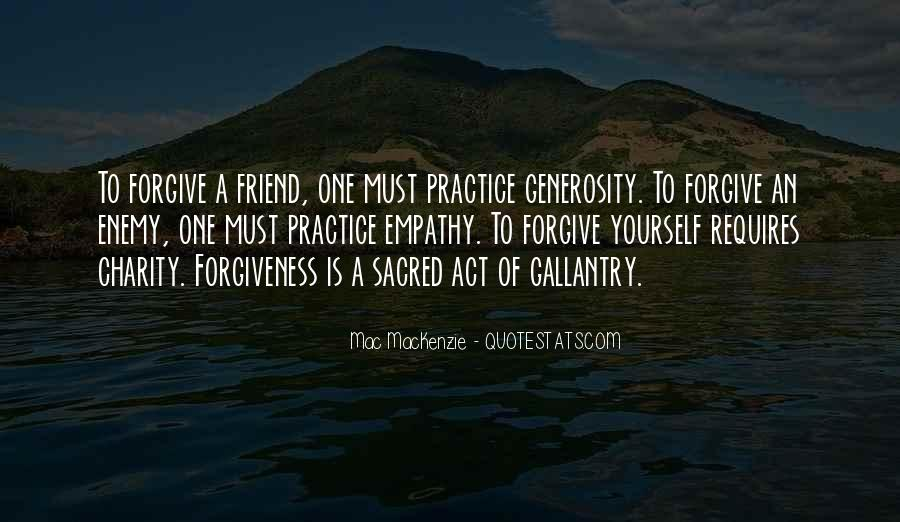 Quotes About Friend And Enemy #10374