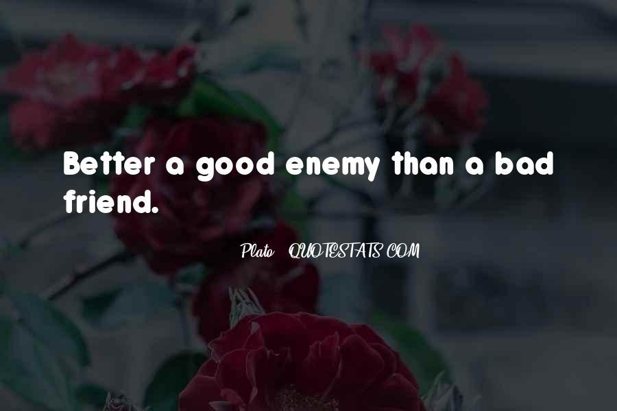 Quotes About Friend And Enemy #178722