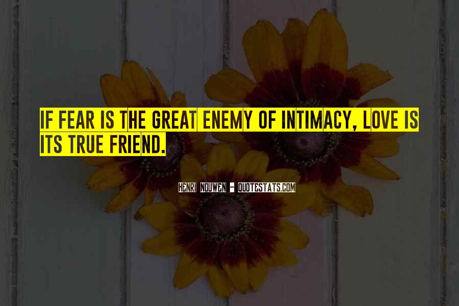 Quotes About Friend And Enemy #218361