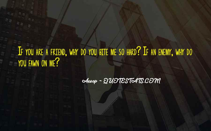 Quotes About Friend And Enemy #240549
