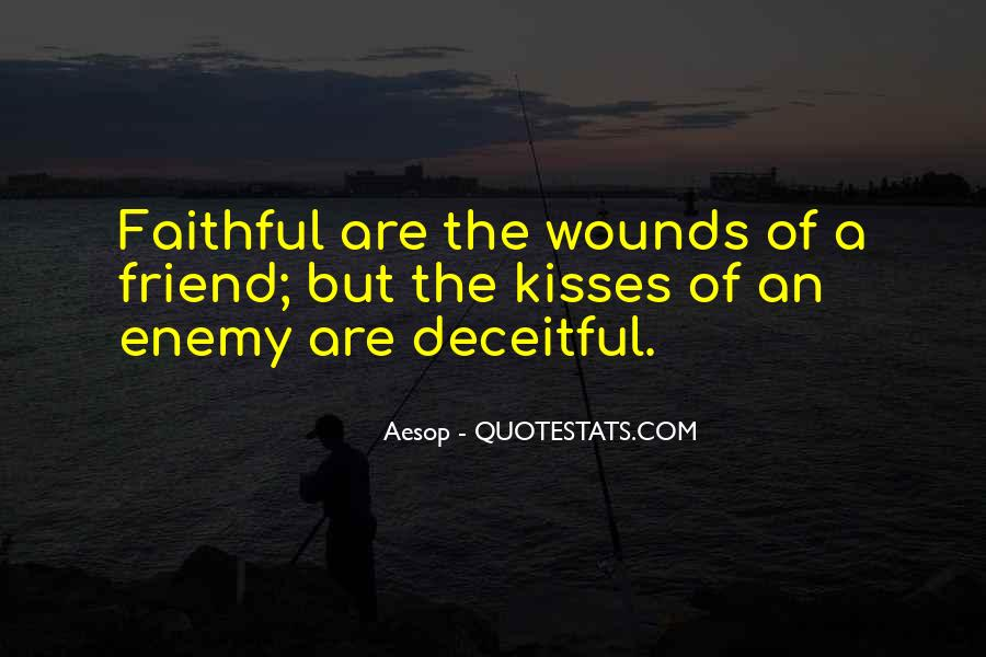 Quotes About Friend And Enemy #290921