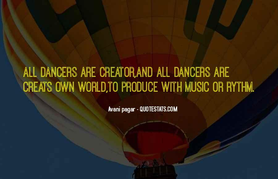 Quotes About Rythm #1635368