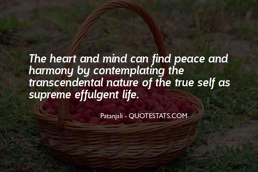 Quotes About Peace Of Heart And Mind #1132492