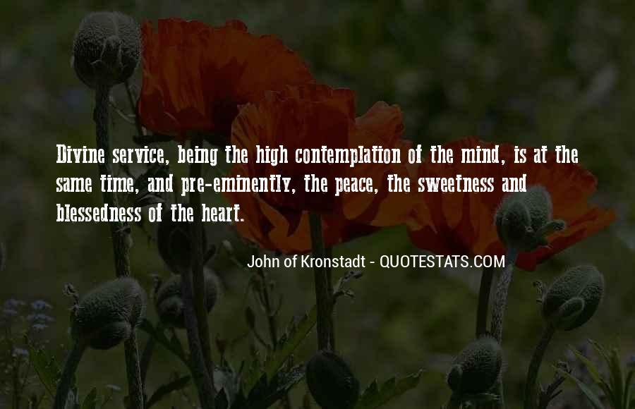 Quotes About Peace Of Heart And Mind #1257004