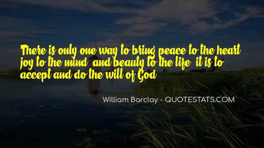 Quotes About Peace Of Heart And Mind #1271629