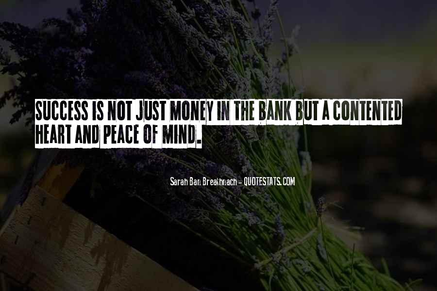 Quotes About Peace Of Heart And Mind #1693870