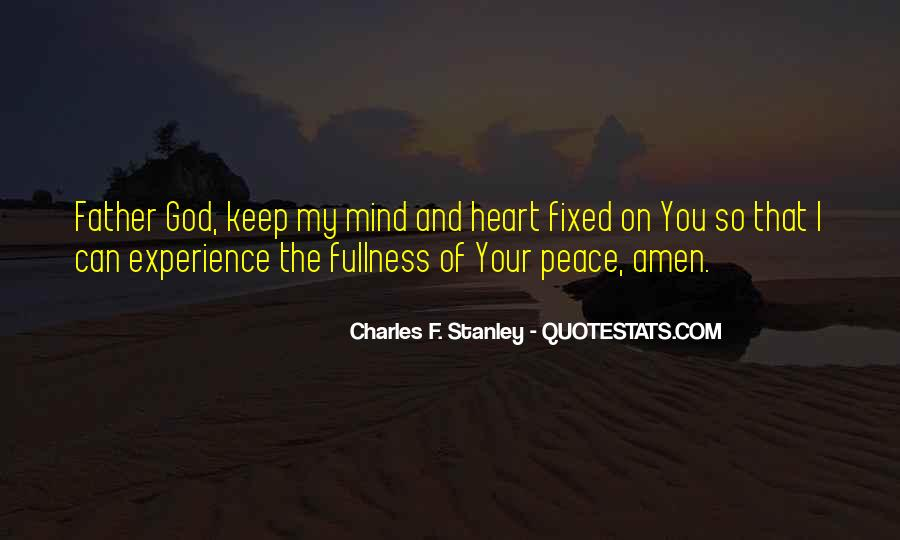 Quotes About Peace Of Heart And Mind #472433