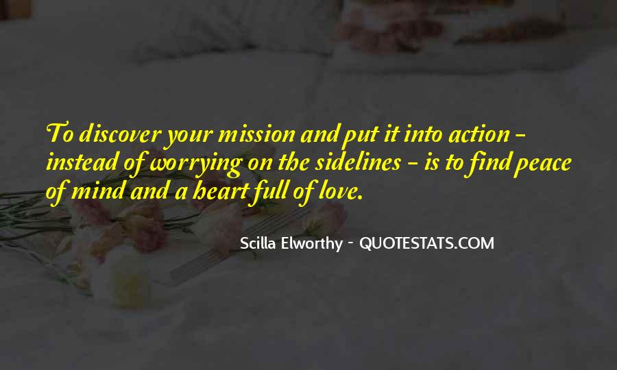 Quotes About Peace Of Heart And Mind #502925