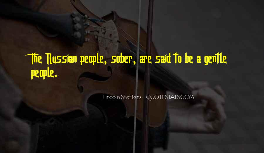 Quotes About Russian People #1102788