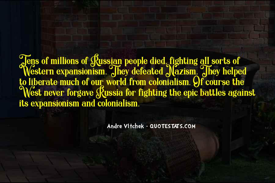 Quotes About Russian People #1423746