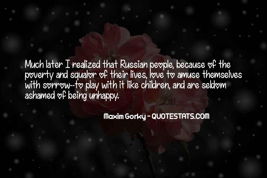 Quotes About Russian People #15527