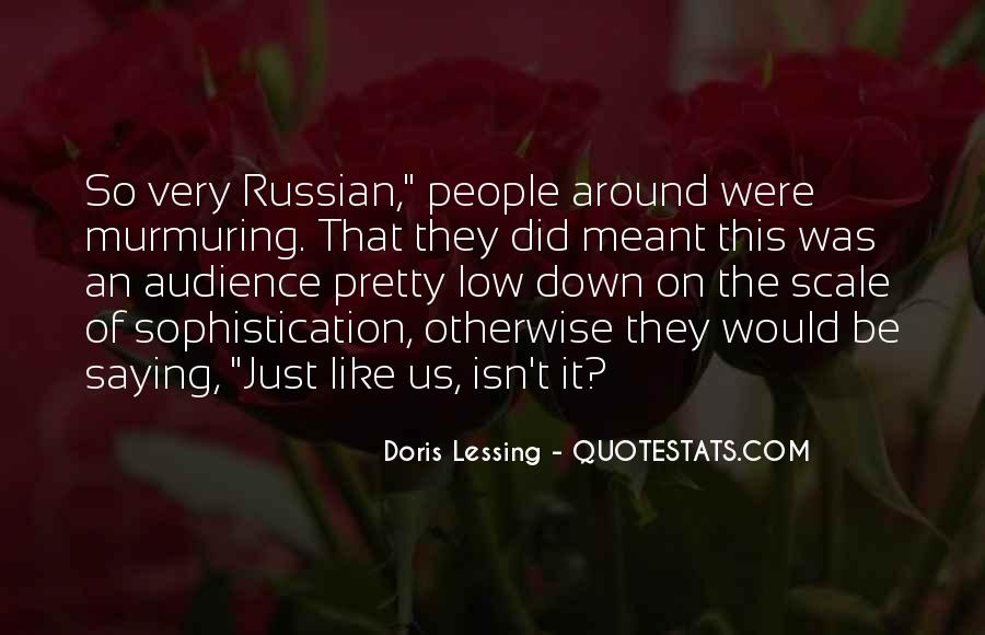 Quotes About Russian People #1626499