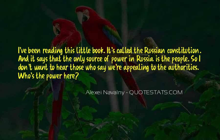 Quotes About Russian People #1631608