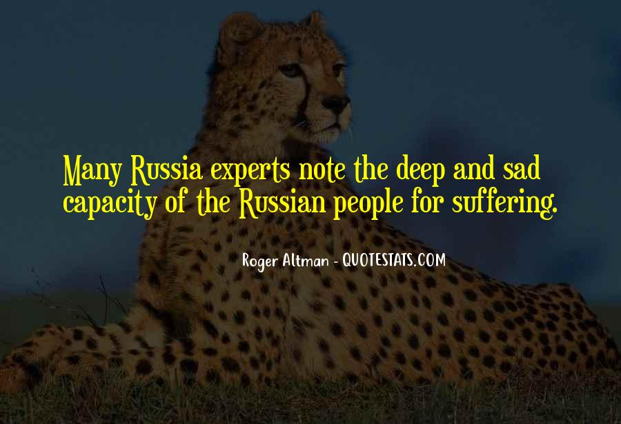Quotes About Russian People #21982