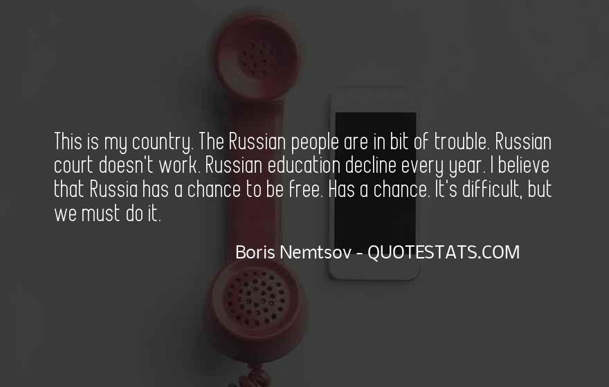 Quotes About Russian People #283583