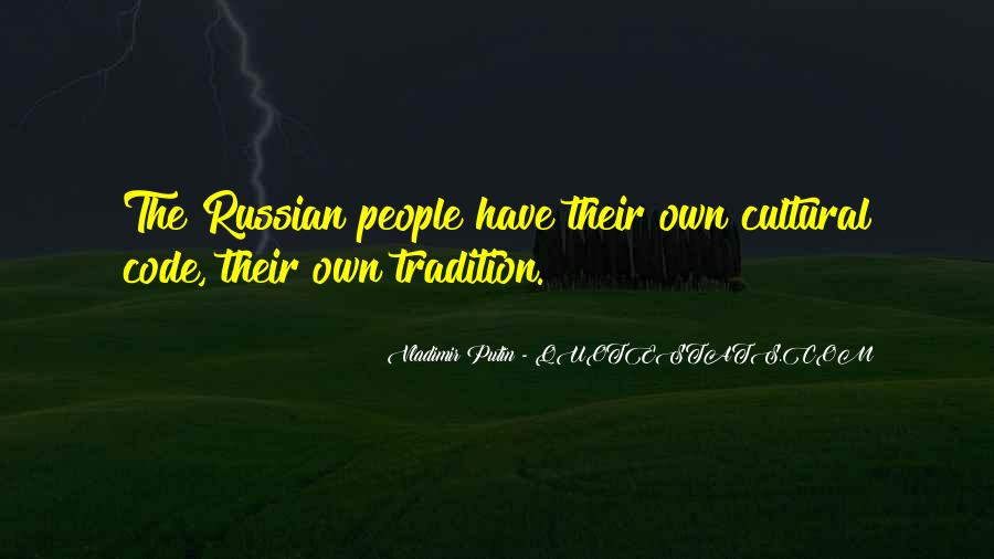 Quotes About Russian People #360802