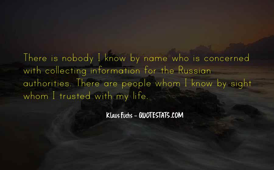 Quotes About Russian People #408222