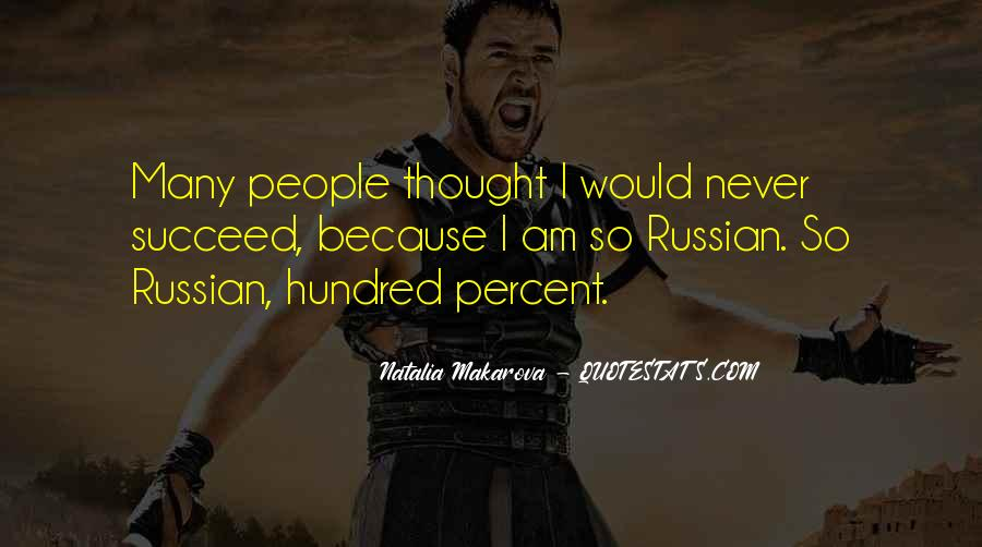 Quotes About Russian People #454386