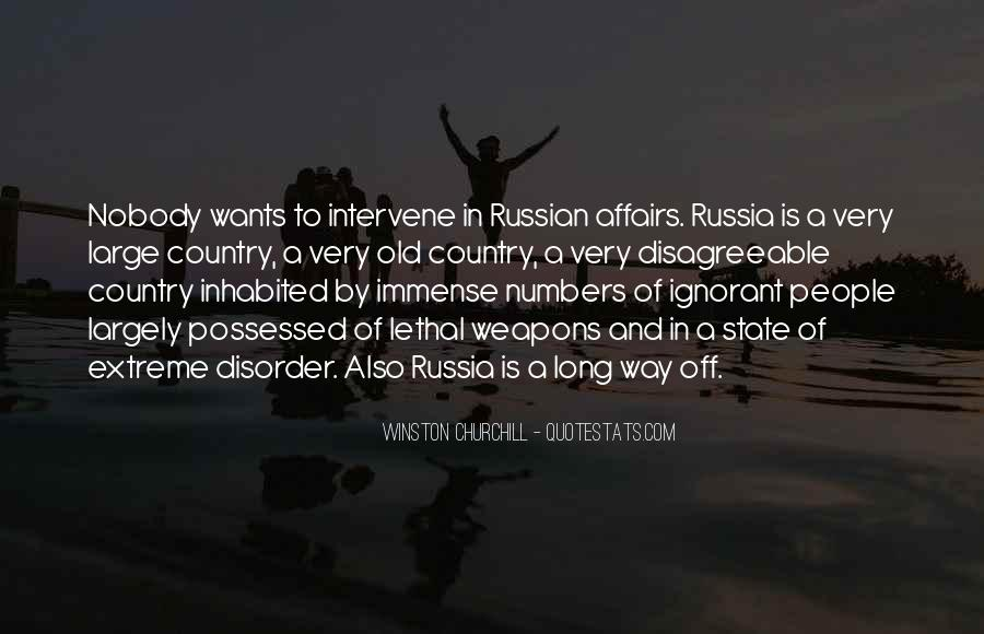 Quotes About Russian People #467875