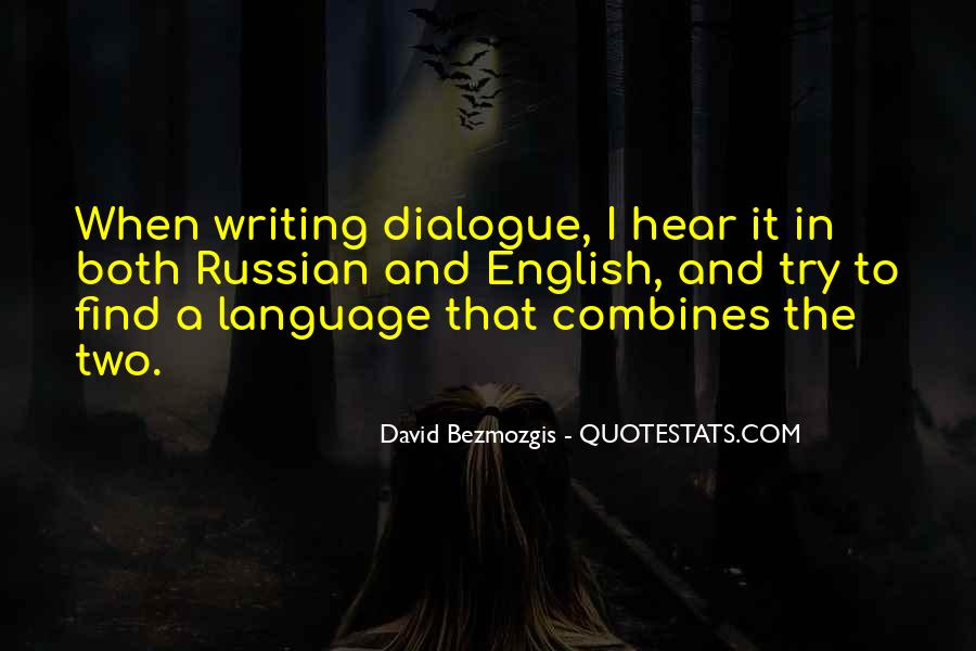 Quotes About Russian Language #159941