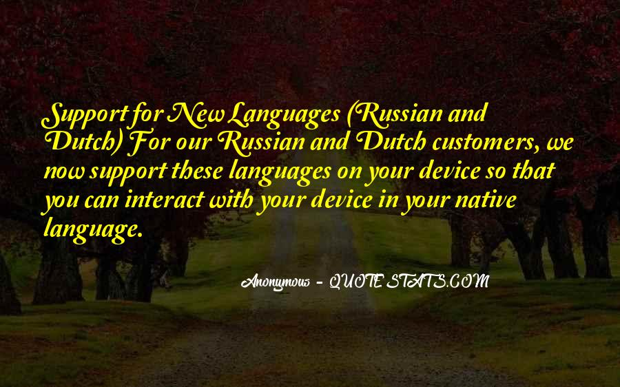 Quotes About Russian Language #1657593