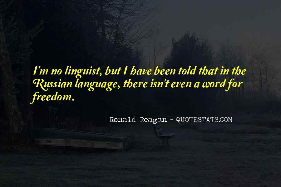 Quotes About Russian Language #1799017