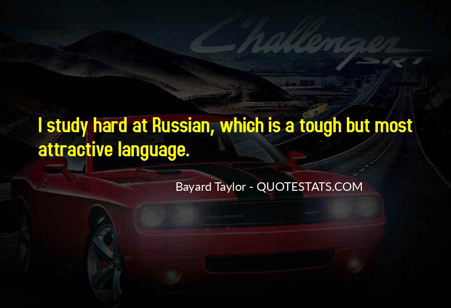 Quotes About Russian Language #236699