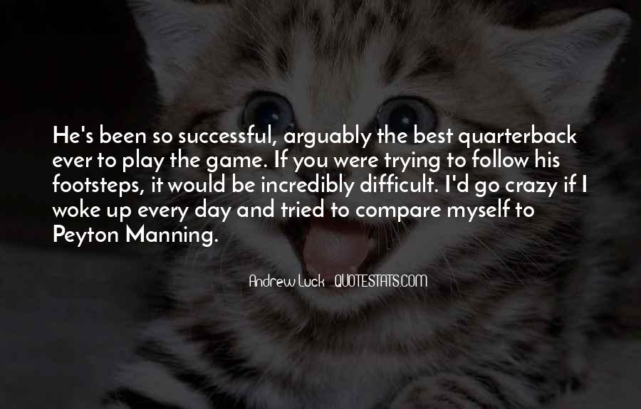 Quotes About Manning Up #1567237