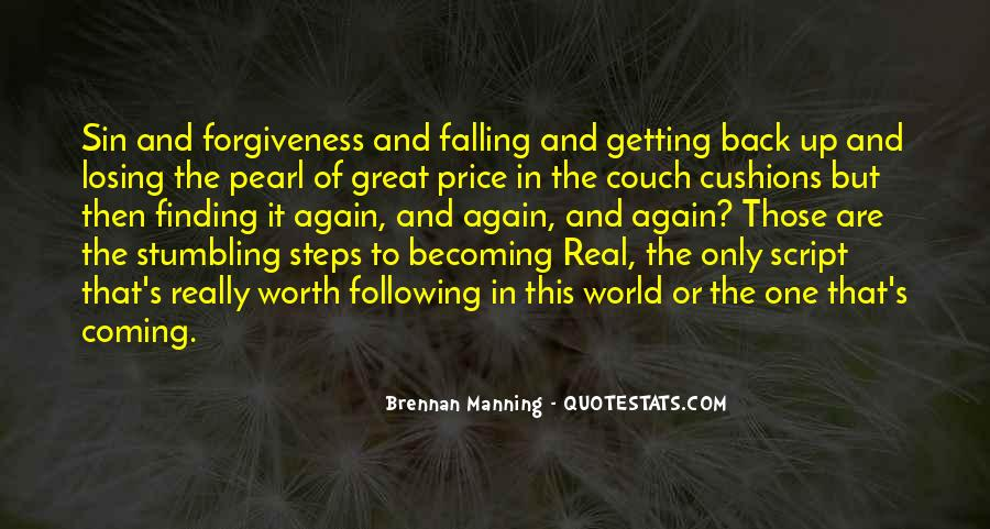 Quotes About Manning Up #1643682