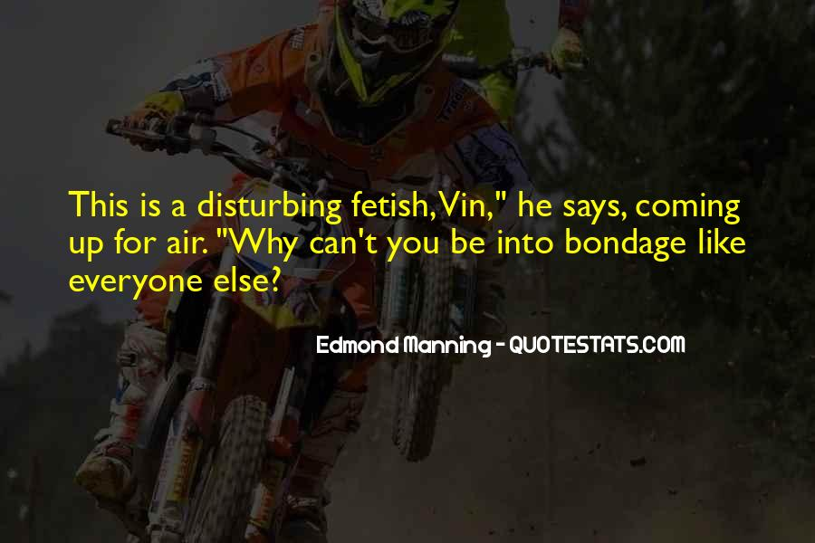 Quotes About Manning Up #1834504